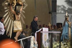 En su mensaje, la Iglesia pidió que se le ponga «fin a la corrupción»