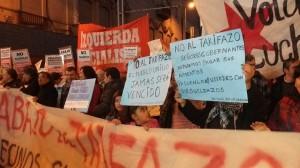 Vecinos autoconvocados protestaron por el Tarifazo y demandaron retroceder con la medida