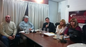 """Funcionarios macristas con intendentes radicales por """"proyectos integrales"""""""