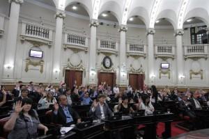 votación gasoductos y nueva deuda legislatura