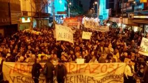 Masiva marcha contra el #Tarifazo en Córdoba