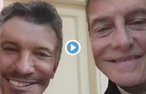Macri se reunió con Tinelli para poner fin a la tensión