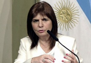 Para Bullrich, Pérez Corradi podría aportar datos de «complicidades estatales»