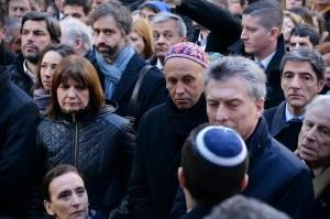 Con un acto al que asistió  Macri, la AMIA recordó a las víctimas del atentado