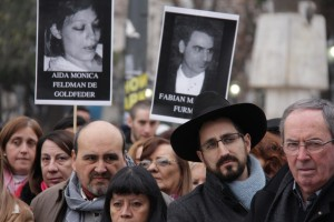 acto 22 años atentado AMIA CBA Fliares Victimas
