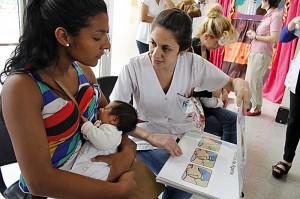 Con diferentes actividades y talleres, se desarrollará la Semana de la Lactancia Materna