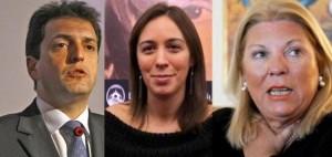 Massa, Vidal y Carrió, en el podio de los políticos con imagen positiva