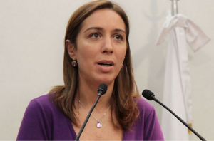 """Con mensaje conciliador, Vidal aseguró que lucha junto a Carrió """"contra las mismas mafias"""""""