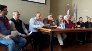 """La """"Coordinadora"""" por la Caja: Gremios cargaron contra el gobierno por perjudicar el sistema previsional"""