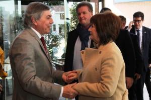 """Por seguridad, la ministra Bullrich con funcionario schiarettista y socios de Cambiemos, """"en dos tiempos"""""""