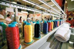 Industriales textiles preocupados por la importación de productos
