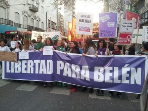 Nutrida marcha en Córdoba para exigir la libertad de Belén