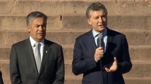 """Desde Mendoza, Macri cuestionó a dirigentes que quieren poner """"un palo en la rueda"""""""
