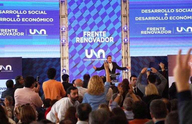 Congreso del Frente UNA durante el fin de semana en Mar del Plata