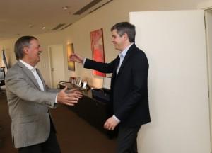 Fondos no coparticipados: Tras el aval al reclamo de intendentes de Cambiemos, Peña trató el tema con Schiaretti