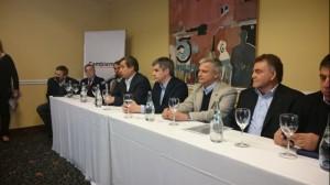 Al mostrarse con intendentes de Cambiemos, Peña confirmó que habrá fondos direccionados a municipios