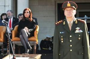 """Milani confesó que renunció al Ejército por """"pedido"""" de CFK"""
