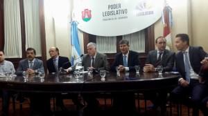Fondos no coparticipados: Bloque Cambiemos renovó reclamo y UPC les demandó gestión ante Macri por la Caja