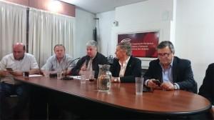 Aguad y Negri respaldaron el reclamo de intendentes (Cambiemos) por fondos no coparticipados