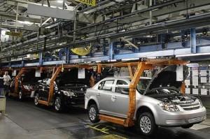 Caída (interanual) del 8,5% en la producción de autos