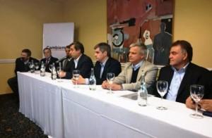 Intendentes cordobeses de Cambiemos en dos encuentros con funcionarios de la primera línea macrista