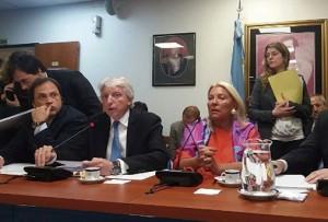 Diputados/Malvinas: Carrió increpó a Foradori por la declaración conjunta con el Reino Unido