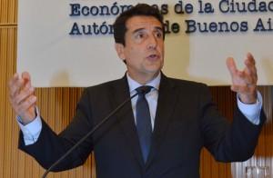 """""""El desafío es bajar el déficit fiscal"""", afirmó el titular del Banco Nación"""