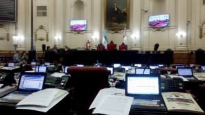 minutos antes de sesion unicameral