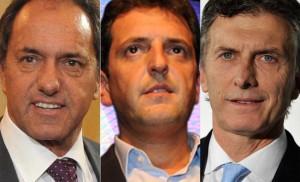 """Scioli se metió en la polémica entre Macri y Massa: """"Yo no anduve saltando de un lugar a otro"""""""