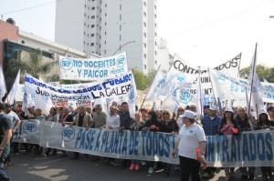 SEP afirmó que con las protestas redujo a más del 50% las bajas dispuestas por el gobierno