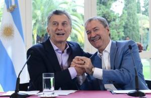 """Con la rúbrica del acuerdo por la Caja, Macri y Schiaretti afianzan su relación más que """"institucional"""""""