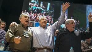 Con Duhalde y Moyano, la CGT recordó en San Vicente el 17 de octubre