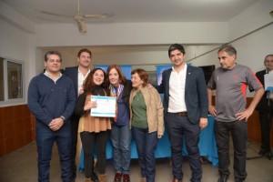 Vigo entregó aportes a siete centros vecinales de Capital por un monto total de $140.000