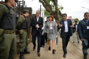 Bullrich efectivizó el despliegue de las fuerzas federales en territorio bonaerense