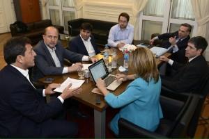 Presupuesto 2017: Massa, Pichetto y Bossio acuerdan propuestas de cambios y se trataría el #2N