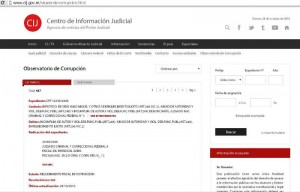 Observatorio: Ya está on-line la base de causas de corrupción que se tramitan en Comodoro Py