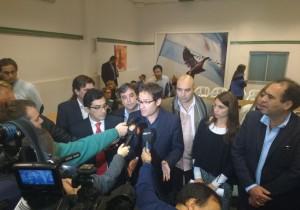 """Lábaque (intendente) recibe a la oposición que denuncia """"atropello institucional"""" del oficialismo"""