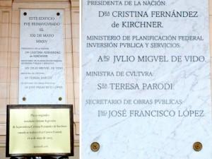 """""""Queremos salir del populismo"""", afirmó Lombardi, quien impulsa cambiar el nombre al Centro Cultural """"Néstor Kirchner"""""""