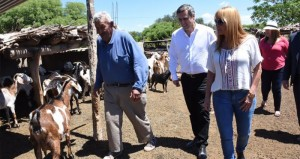 Junto a Mestre, Ayala desembarcó en Quilino, para reunirse con intendentes del norte cordobés