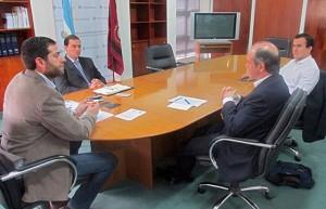 Pan American Energy manifestó su interés en invertir en energías renovables en la provincia