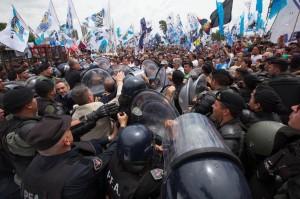 Parrilli acusó a Bullrich de buscar provocar una «catástrofe» con militantes kirchneristas