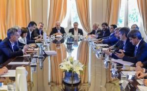 En reunión de Gabinete, Macri les pidió soluciones a sus ministros