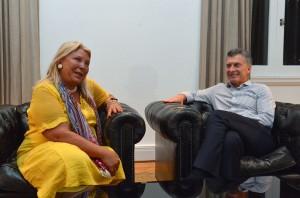 Tras cenar con Carrió para acercar posturas, Macri recibe a gobernadores en Olivos