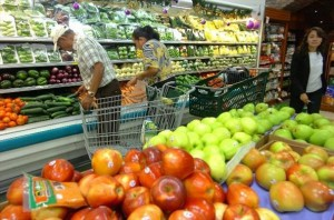 En octubre se reflejó un aumento del 9% en frutas y verduras