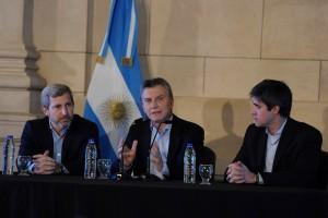 Frigerio confía en que la reforma política será aprobada en el Senado