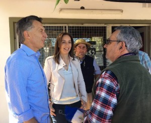Macri y Vidal en el 8° timbreo de Cambiemos