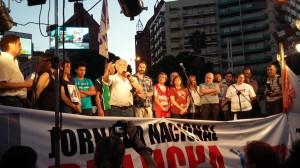 #Dignidad4N En acto en CBA, Monserrat se despachó en duros términos contra Schiaretti y Macri