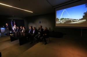 """Schiaretti destacó que el Puente """"Mestre"""" tendrá un impacto urbanístico favorable"""
