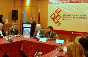 Provincias del NOA debatieron en Salta sobre políticas de Empleo