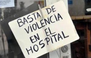 Seis de cada diez médicos fueron víctimas de violencia